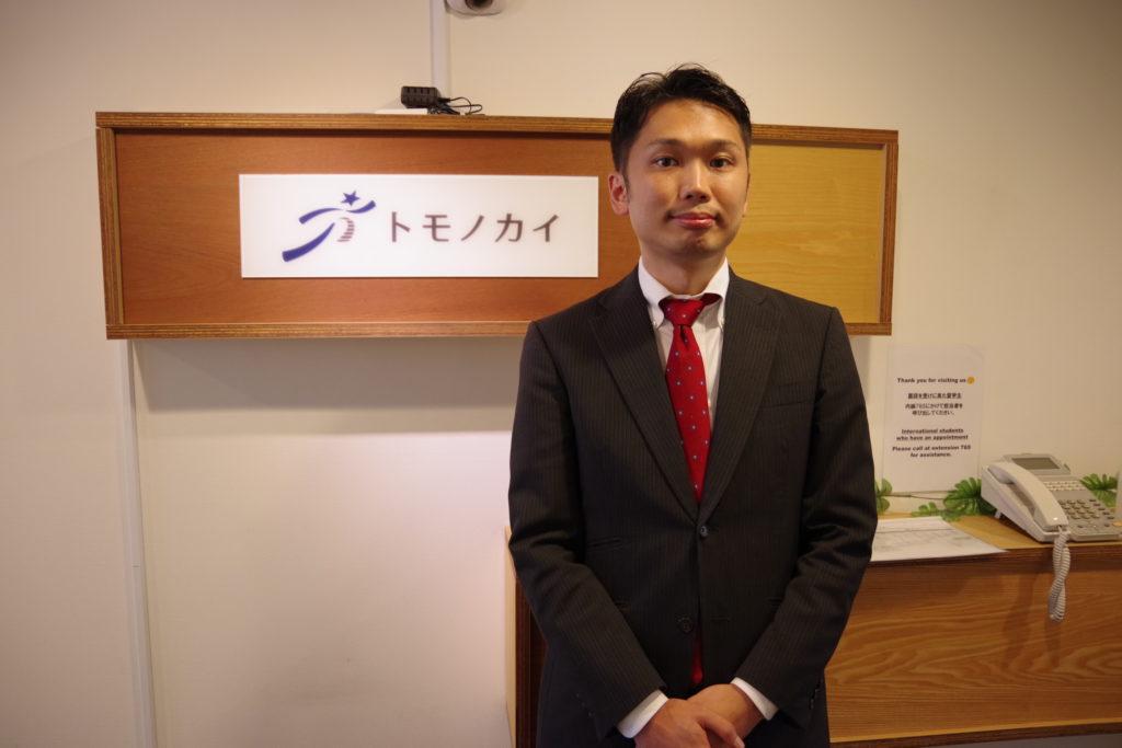 徳岡臣紀代表取締役社長